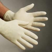 Latex gloves, med, disposable, 100/Box