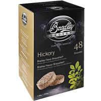 Bradley Bisquette Hickory 48/box