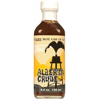Alberta Crude BBQ Sauce,Ultra Hot, 354 ml