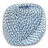 Blue & White Sausage Twine/String