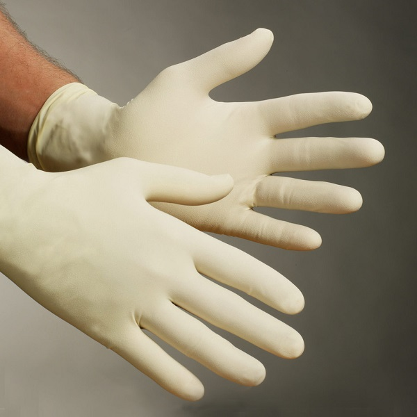 Latex gloves, xlarge, disposable, 100/Box